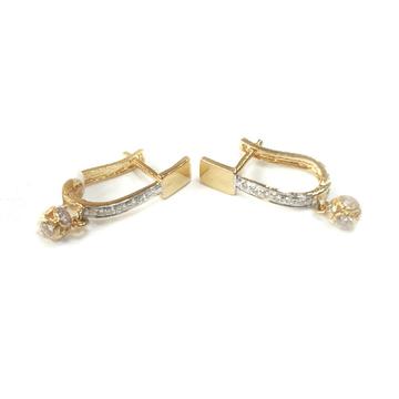 18K Gold Earrings MGA - GB002