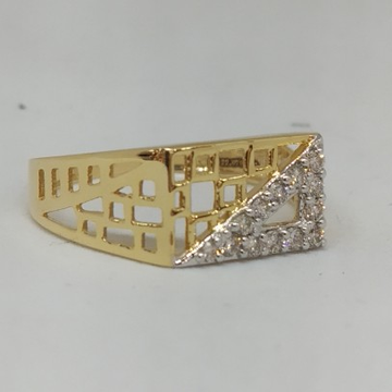 Real diamond branded gent ring