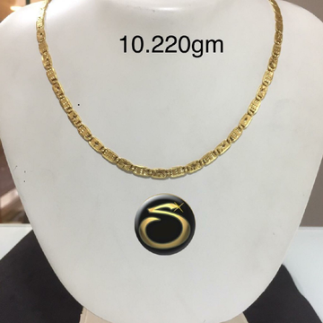 916 Gold Fancy hollow Chain SC-KO5621