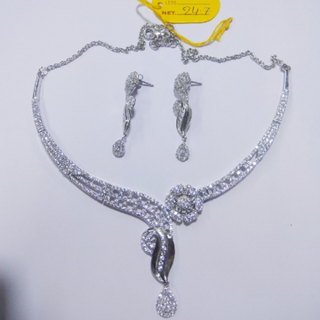 92.5 sterling silver necklace with Eatings ML-56