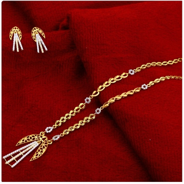22 carat gold hallmark fancy ladies chain necklace...