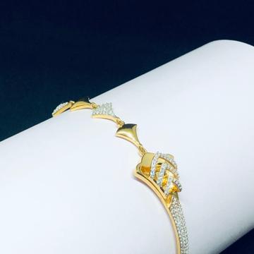 916 Gold Hallmark Modern Bracelet