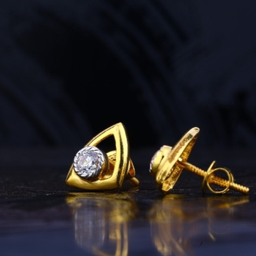 22 carat gold fancy ladies earrings RH-LE733