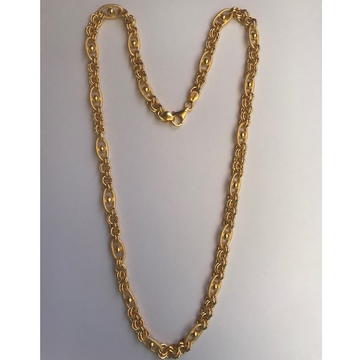 22kt gold fancy handmade chain dc-c003