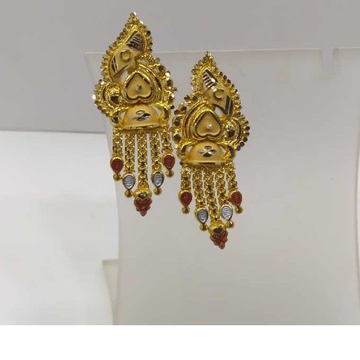 840 Gold Earrings RJ-rj21