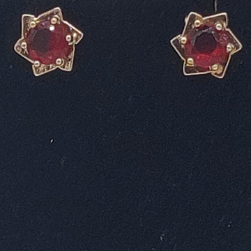 Red CZ Tops jer0259