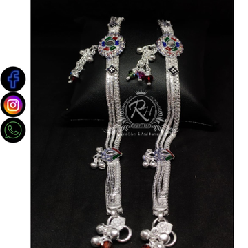silver antiq payal RH-LP343
