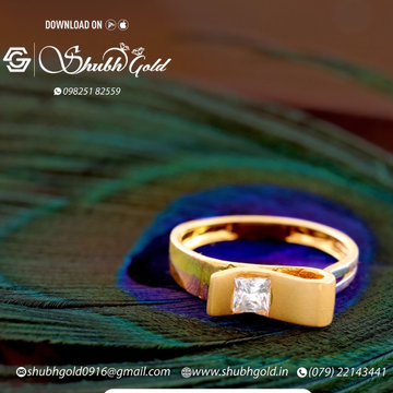 Solitare Rings by Shubh Gold