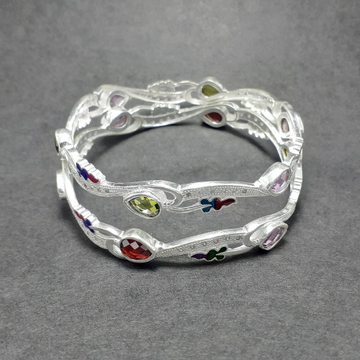 Silver Bangle by