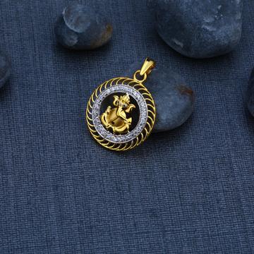 Ganesha Gold 916 God Oendant-GP69
