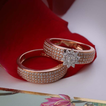 18kt Rose Gold  women wedding wear Natural by