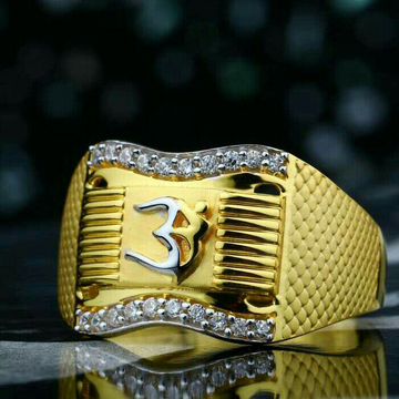 Om Attractive Gents Ring 916