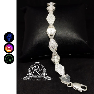 silver bracelet for men RH-GL389