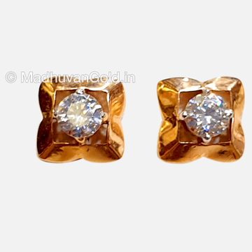18KT Rose Gold Attractive Diamond tops