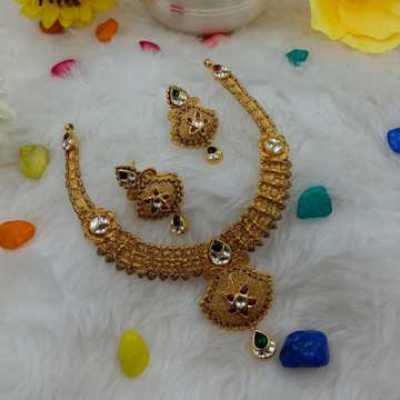 916 gold bridal necklace set by Ranka Jewellers