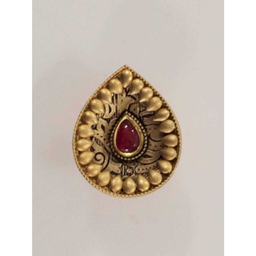 22KT Antique Jadtar Ladies Ring