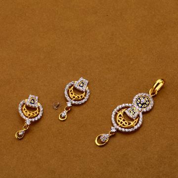916 Cz Exclusive Ladies Hallmark Pendant Set FPS141