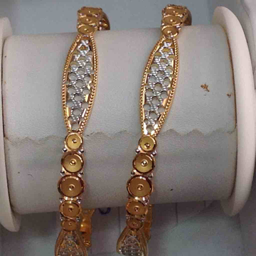 916 Gold Delicate Bangles
