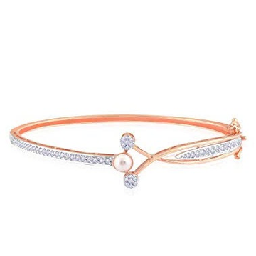 18kt rose gold and diamond designer bracelet for women jkb026