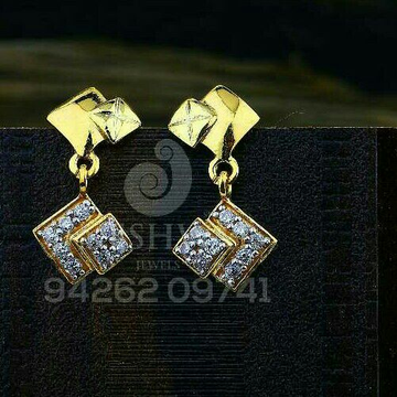18kt Fancy daily Were Cz Gold Ladies Tops ATG -0605