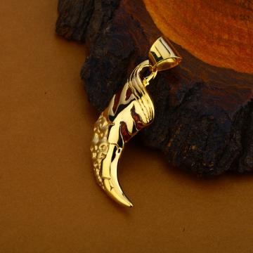 Nakh Hollow Gold Pendant-HLP106