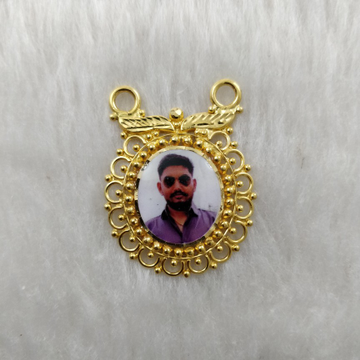 916 Gold photo mina Mangalsutra Pendant