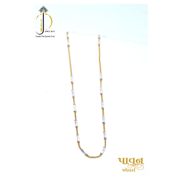 22KT / 916 Gold fancy most Favorite chain for ladies CHG0256