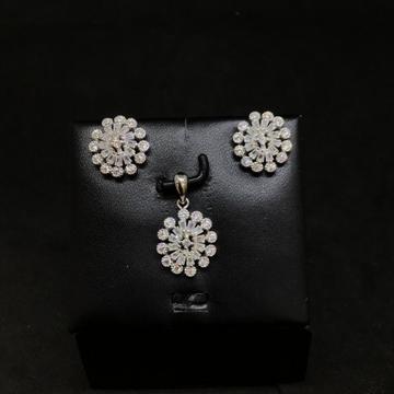 925 fancy pendant set by