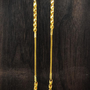 916 gold fancy chain by Suvidhi Ornaments