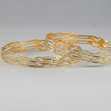 22Kt Yellow Gold Eternity Bangles For Women
