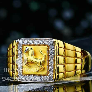 Fancy C.Z Gents Ring