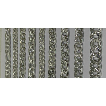 92.5 Sterling Silver Karap & Sachin Fancy Broad Chain Ms-3176