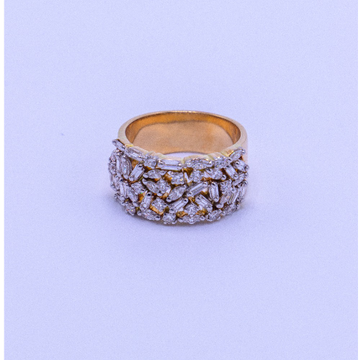 18k gold diamond thumb ring agj-lr-229