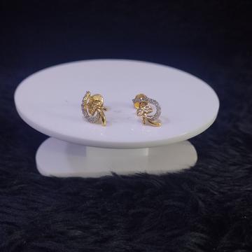 22KT/916 Yellow Gold Calynda Earrings For Women