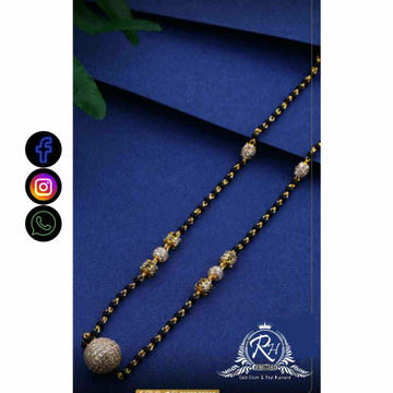 22 Carat Gold Classical Ladies Mangalsutra RH-LM705