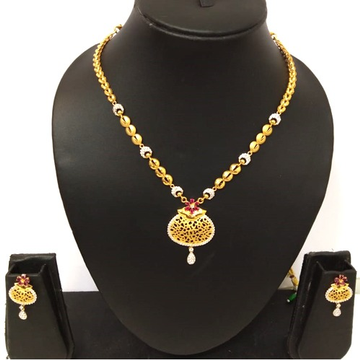 916 Gold Designer Necklace Set BJ-N002