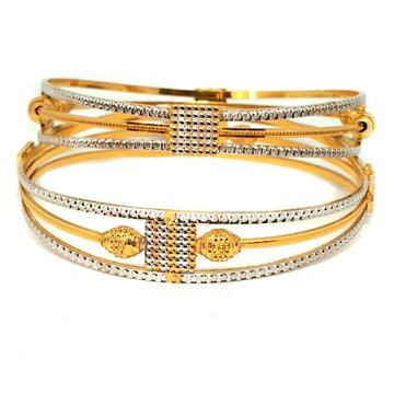 1 gm gold forming bangles mga - gf0010