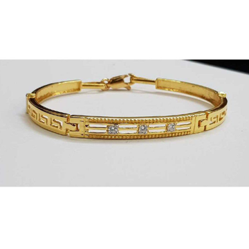 916 Gents Fancy Gold Bracelet G-3444