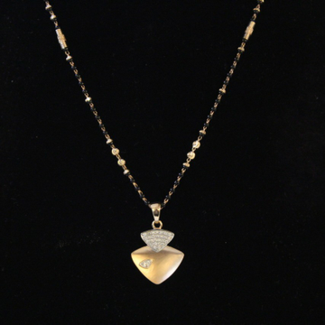 18ct fancy pendal with ser