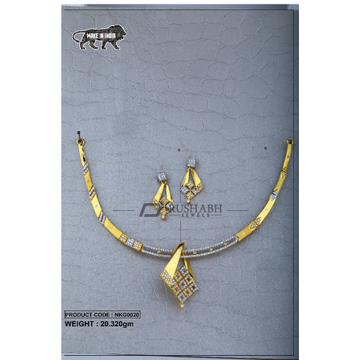 22 Carat 916 Gold Ladies necklace nkg0020