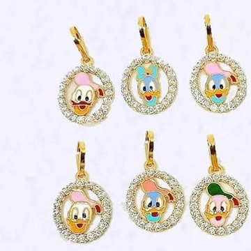 916 Gold Cartoon Bacha Pendal RH-CBP22