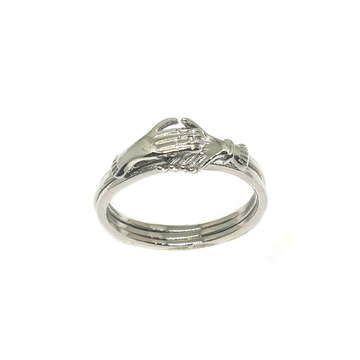 925 Sterling Silver Hastmelap Ring MGA - LRS3444