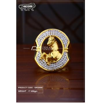 22 Carat 916 Gold Gents heavy ring grg0095