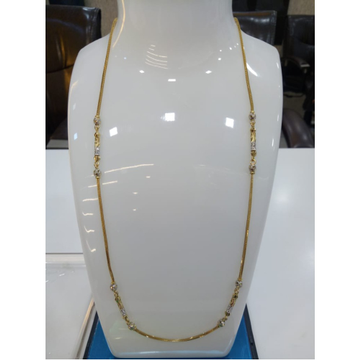 22KT Gold Attractive Chain For Women SVJ-C004