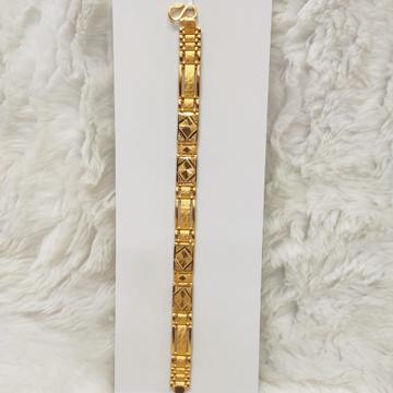 22kt gold bracelet by Aaj Gold Palace