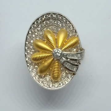 22KT Gold Designer Ladies Ring LJ-6
