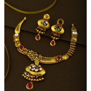 916 CZ Hallmark Gold Gorgeous Bridal Necklace Set