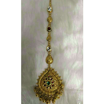 916 Gold Antique Jadtar Tikka