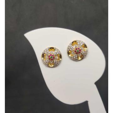 22k ladies round earring