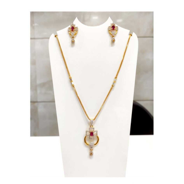 22 K Gold Pendant Set. NJ-P0759